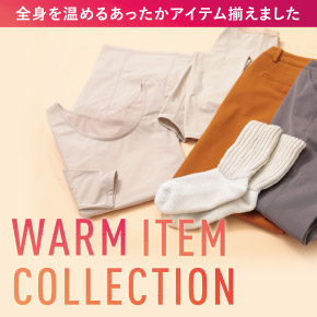 WARM ITEM COLLECTION